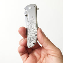 Load image into Gallery viewer, Rose Assisted-Open Knife (One of a Kind)