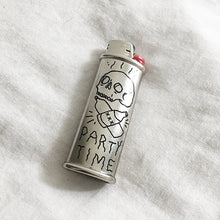 Load image into Gallery viewer, Party Time Hand-Engraved Lighter Sleeve