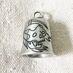 Ride or Die Reaper Hand-Engraved Guardian Bell