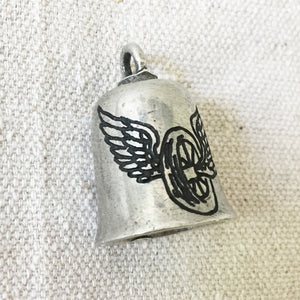 Forever Two Wheels Hand-Engraved Guardian Bell