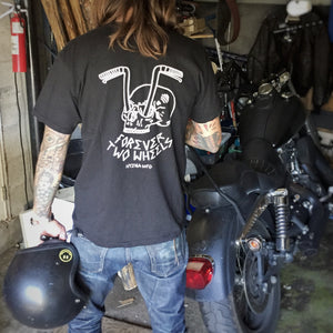 Forever Two Wheels Black T Shirt