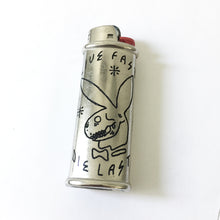 Load image into Gallery viewer, Live Fast Die Last Hand-Engraved Lighter Sleeve