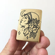 Load image into Gallery viewer, Gypsy Hand-Engraved Zippo