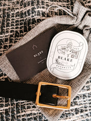 blake goods center bar belt