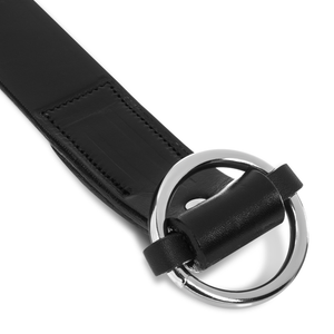 Circle Belt in Jet Belt - Blake Goods - English Bridle Leather Belt