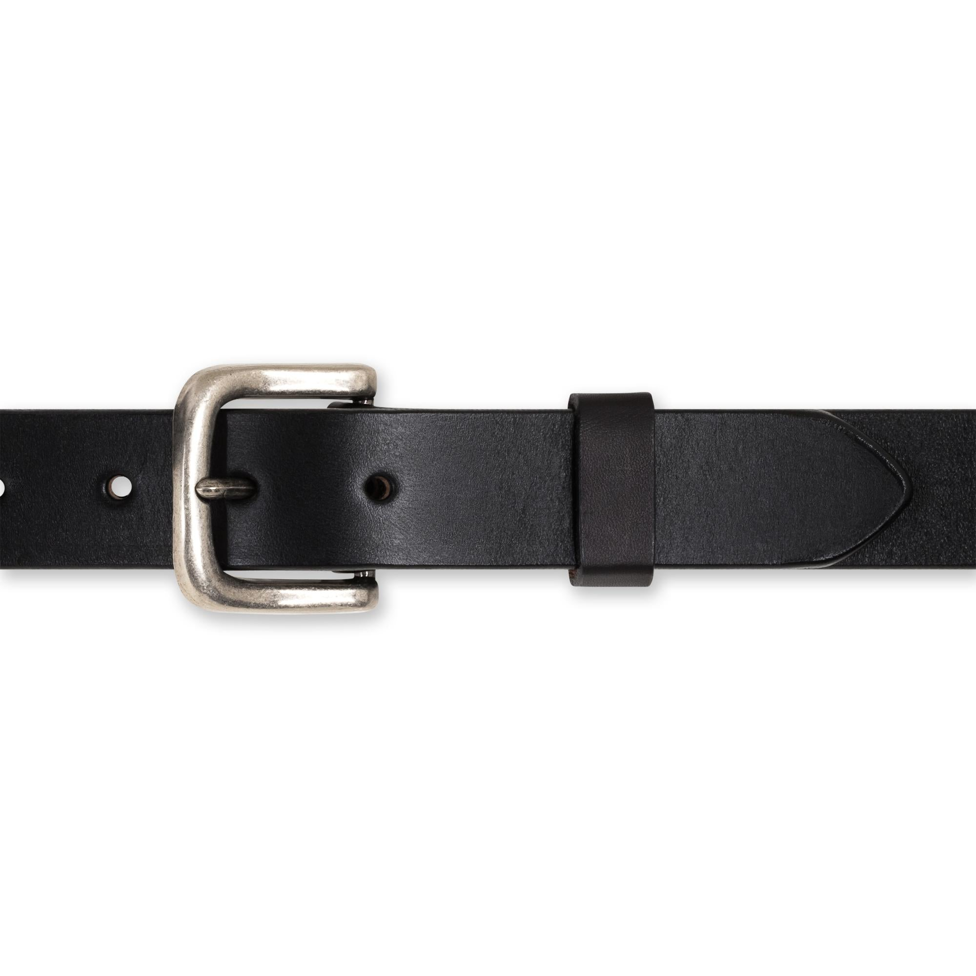 Everyday Belt in Jet Belt - Blake Goods - English Bridle Leather Belt