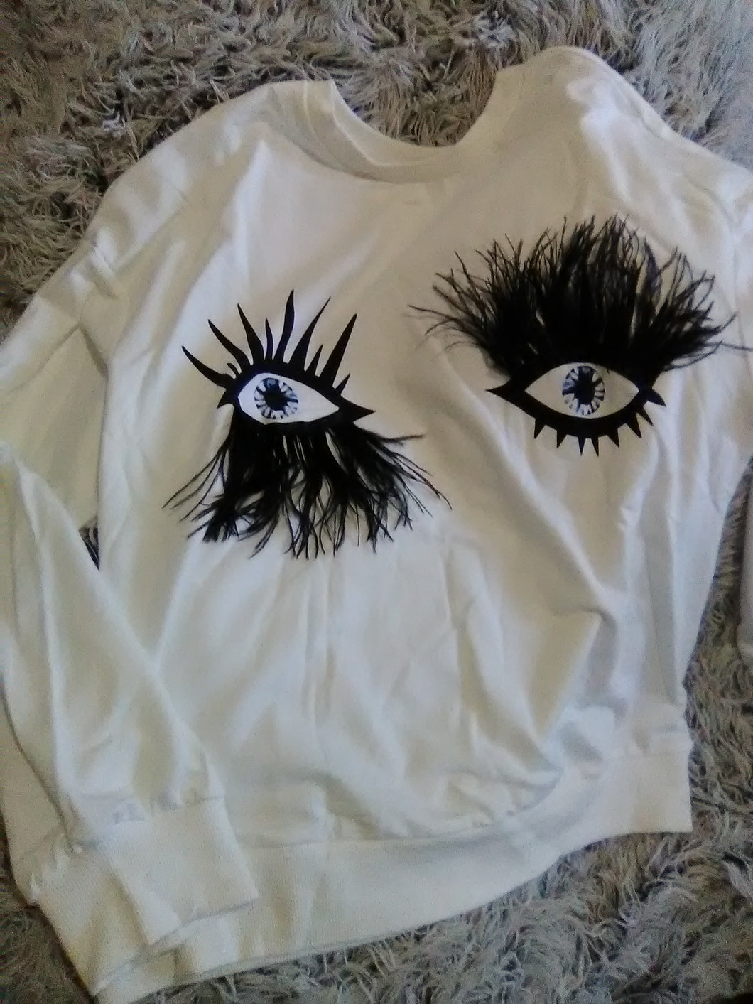 Art eyes sweater