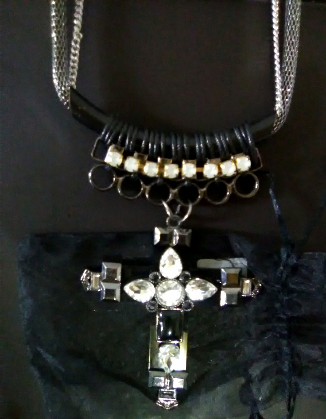 Statement statement necklace