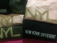 """ New York Different "" N Y hoodie"