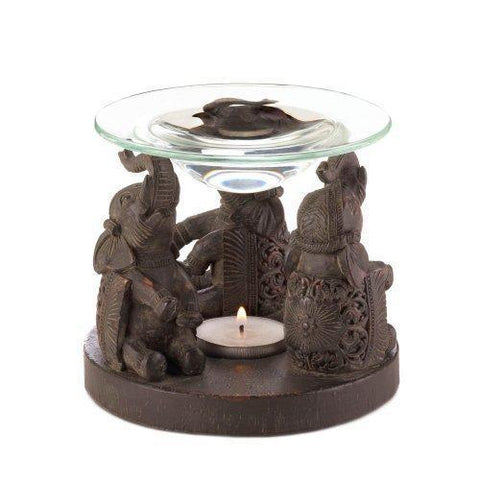 Elephant Oil Warmer (pack of 1 EA)
