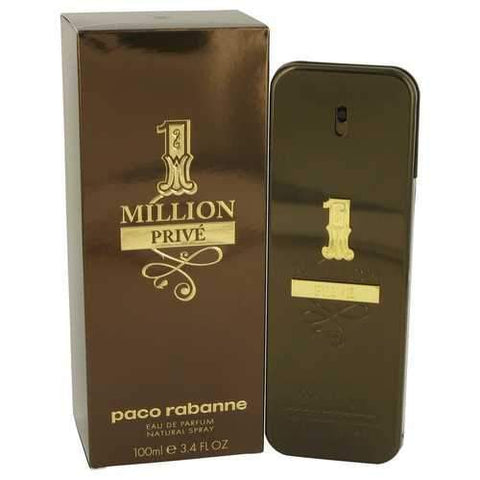 1 Million Prive by Paco Rabanne Eau De Parfum Spray 3.4 oz (Men)