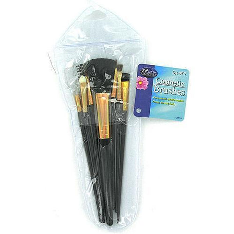 Cosmetic Brushes in Case ( Case of 72 )