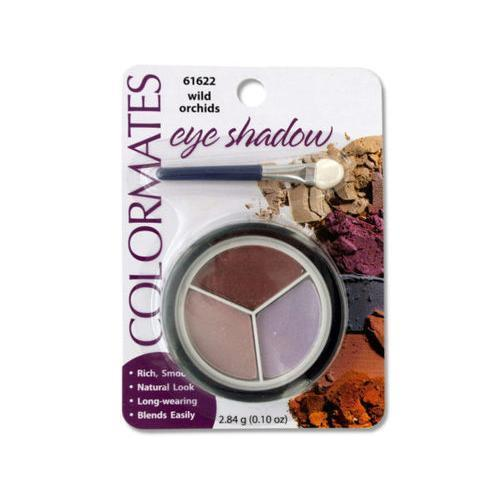 Colormates Wild Orchids Eye Shadow Compact ( Case of 96 )