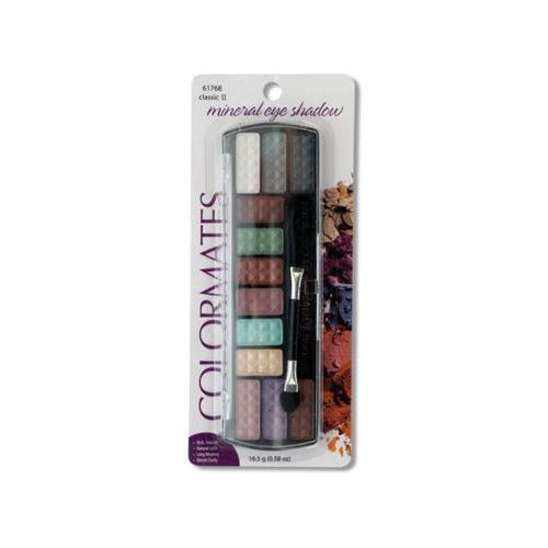 Colormates Classic II Mineral Eye Shadow Palette ( Case of 72 )
