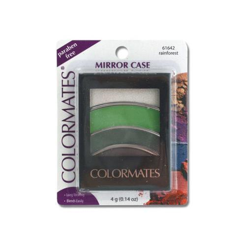 Colormates Rainforest Mirror Case Eye Shadow ( Case of 72 )
