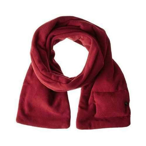 Battery Op Heated Scarf Red