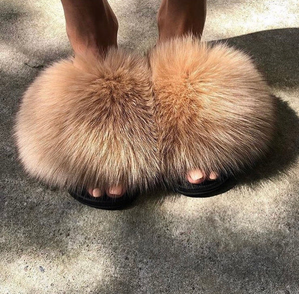 Wood Pom fox