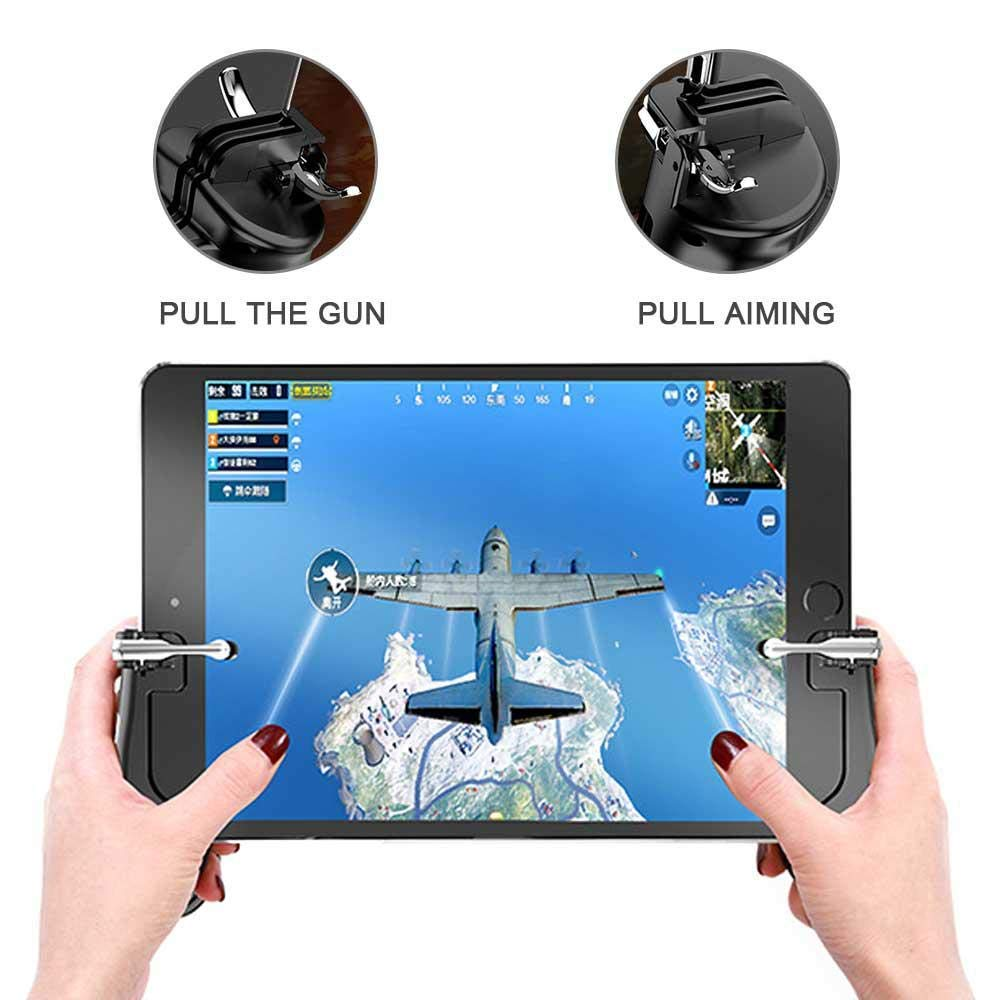 [ For Tablets ] Mobile Game L1R1 Pressing Holder Controller | PUBG IPAD