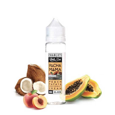 Charlie's Pacha Mama peach papaya coconuts cream