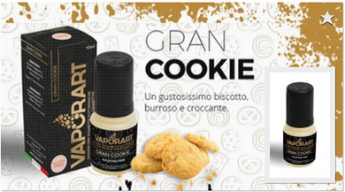 Liquido pronto vaporart Gran cookie 10 ml