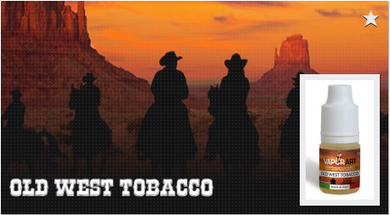 Liquidi vaporart Old west Tobacco
