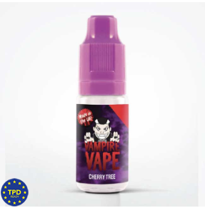 LIQUIDO VAMPIRE VAPE CHERRY TREE 10 ml
