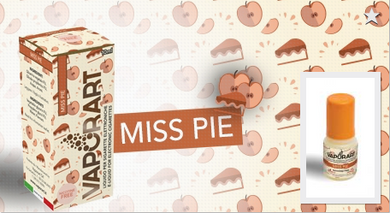Liquido Vaporart Miss Pie 10 ml Novità 2019