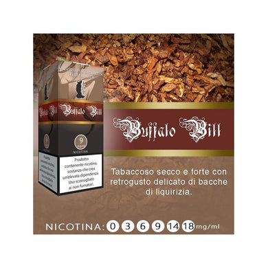 Liquido pronto LOP Buffalo Bill 10 ml