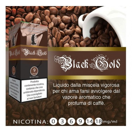 Liquido pronto LOP Caffè/ Black gold 10 ml