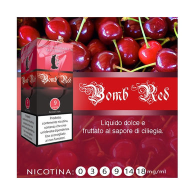 Liquido pronto LOP Ciliegia/ Bomb red 10 ml