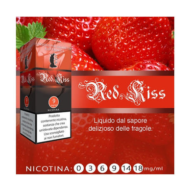Liquido pronto LOP Fragola/ Red kiss 10 ml