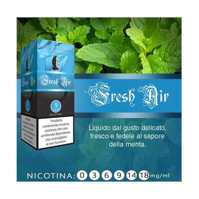 Liquido pronto LOP Menta/ Fresh air 10 ml