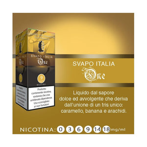 Liquido pronto LOP Svapo Italia ONE 10 ml