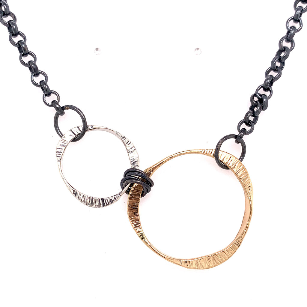 Harmony Mobius Necklace by Dana Reed Designs