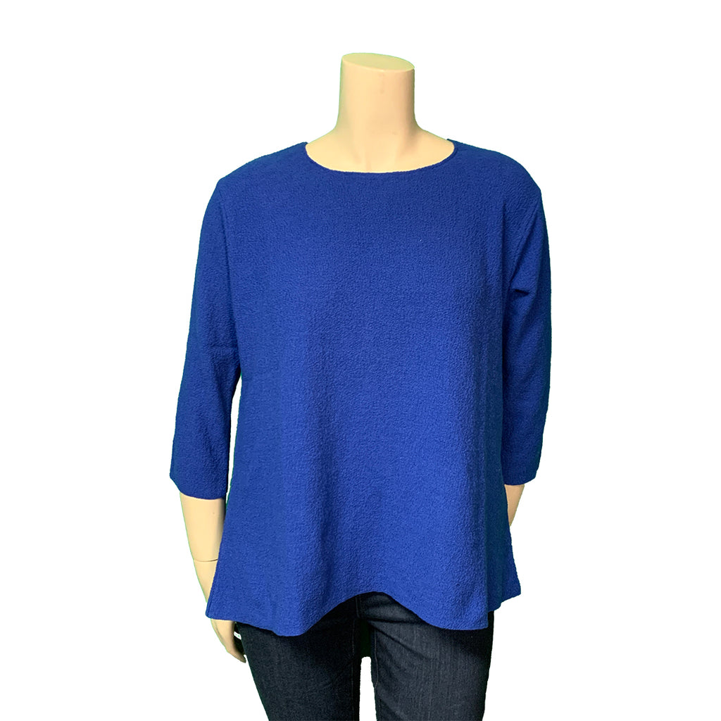Royal blue summer sweater