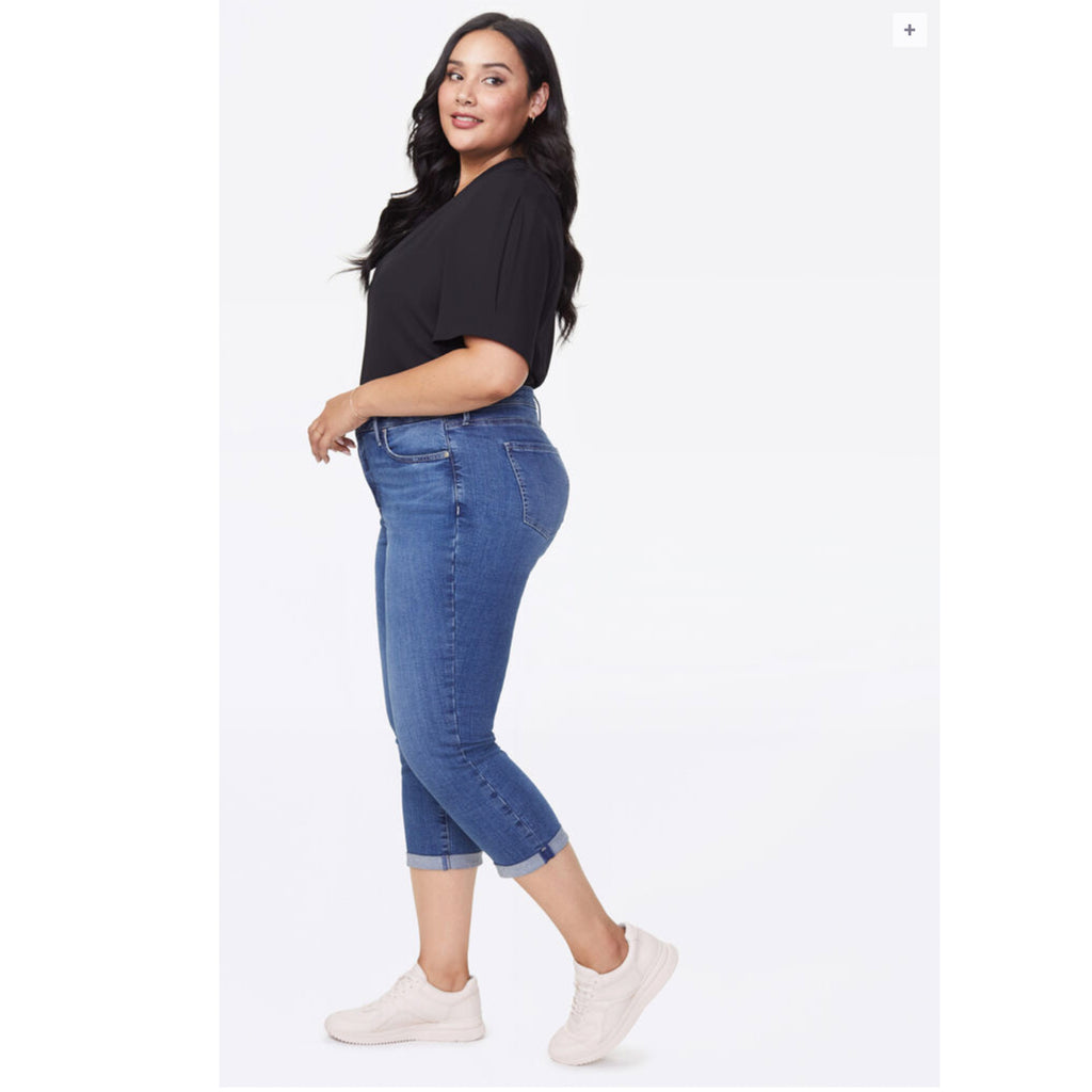 NYDJ cropped plus capri jeans