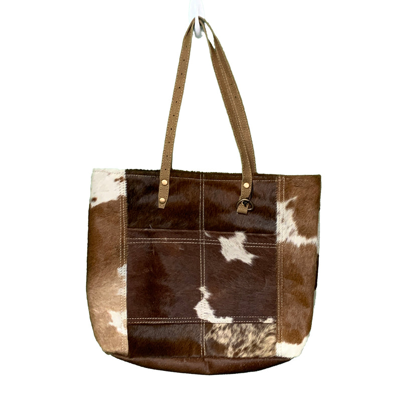 Hair on Leather Tote
