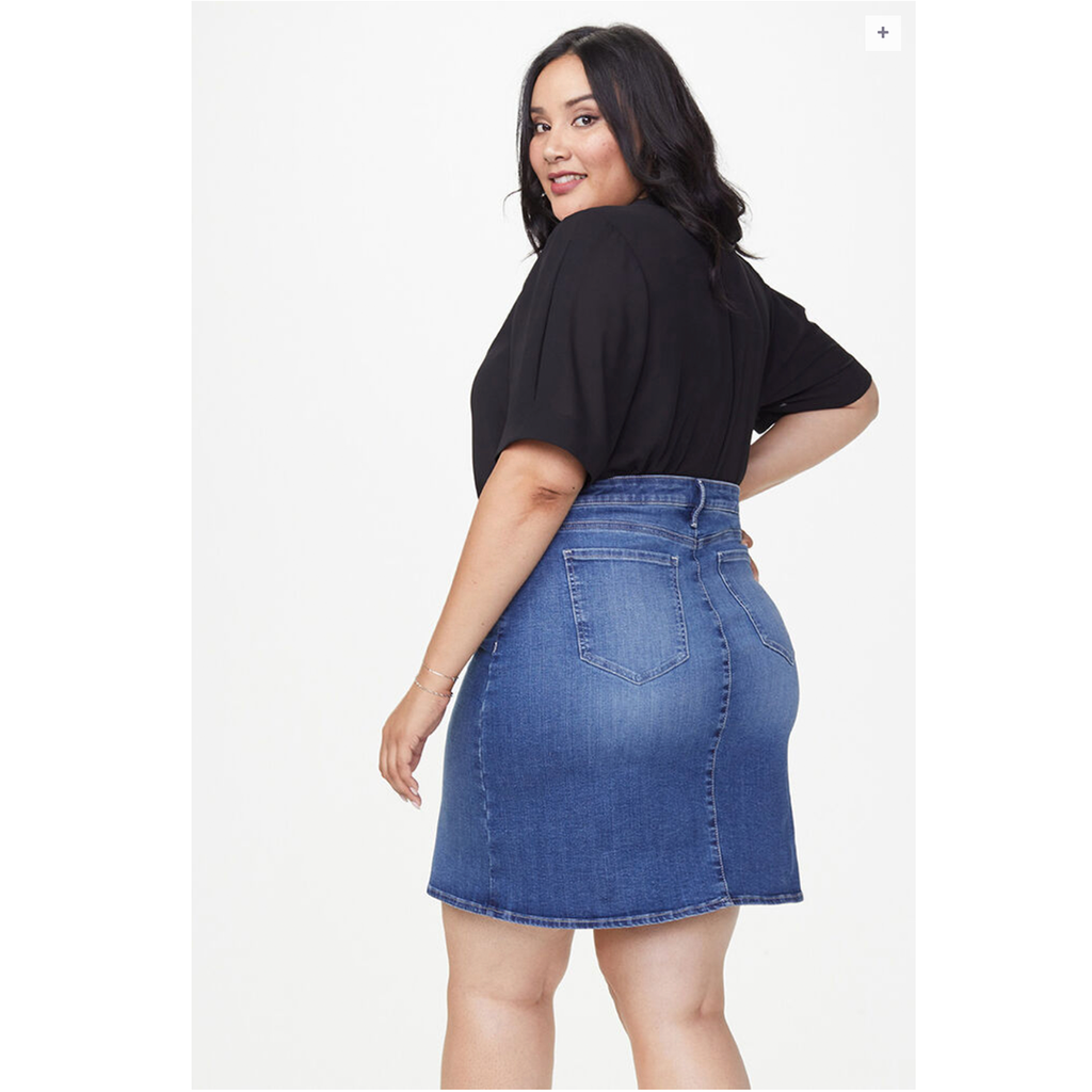 Five Pocket Denim Skirt by NYDJ - Misses Sizing