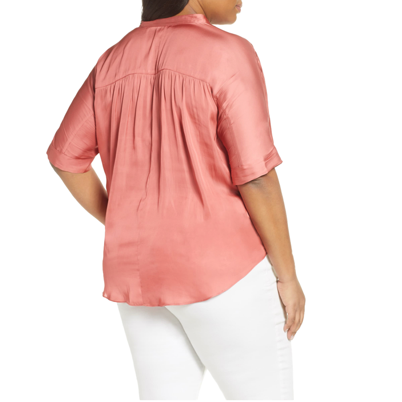 Destination Peasant Blouse by NIC+ZOE - Plus sizes
