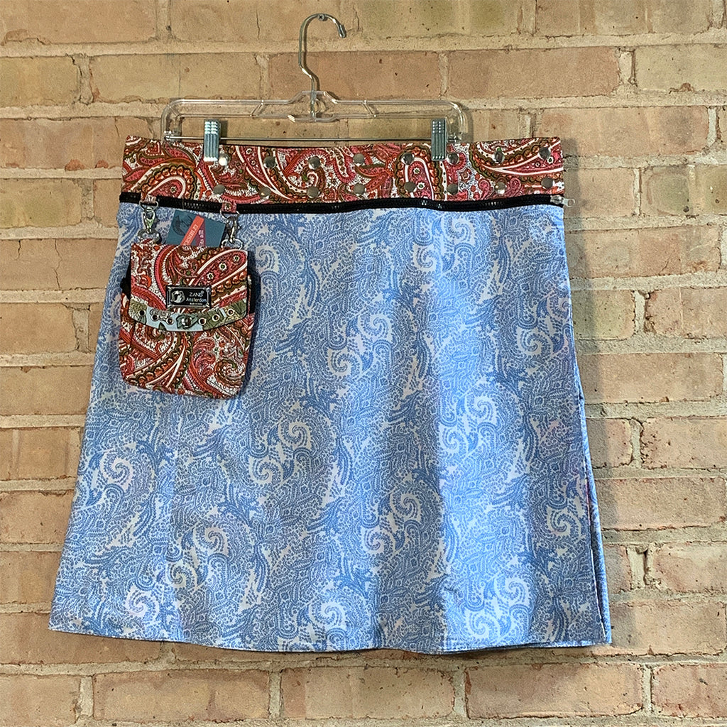 Emma Reversible Skirt - Fits sizes 2X and 3X