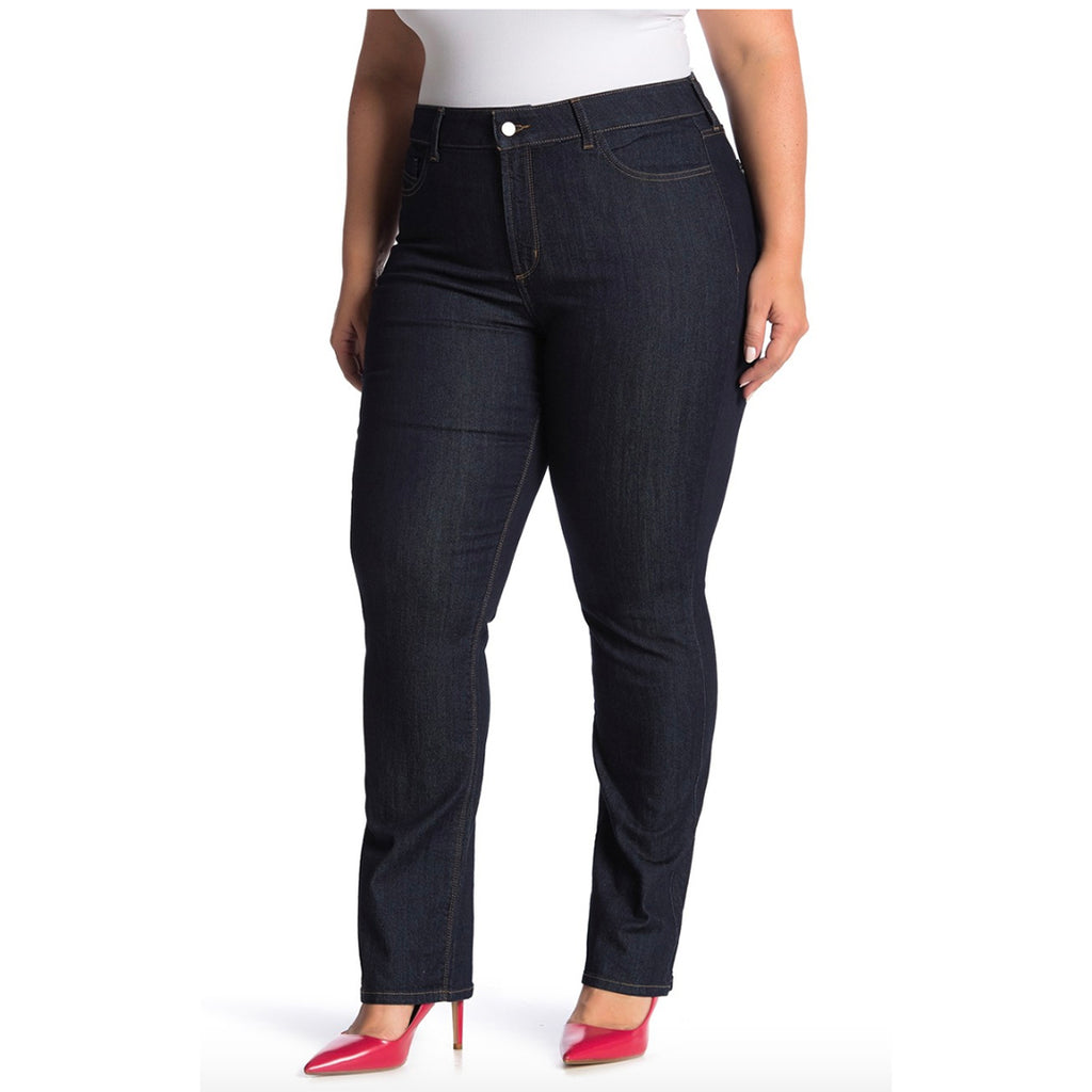 NYDJ Marilyn Straight Jeans Plus Size