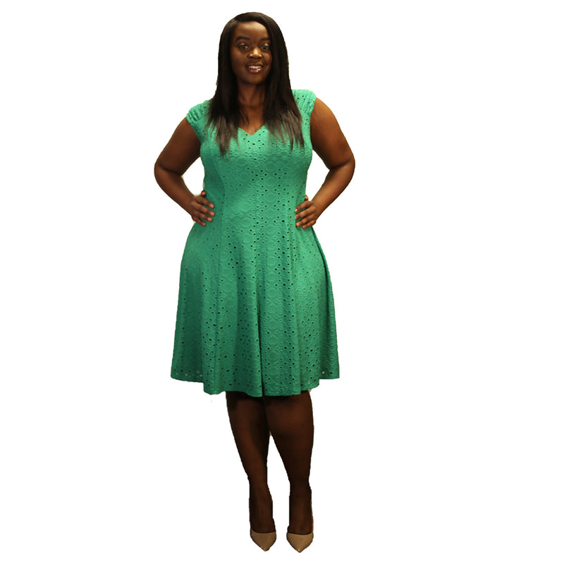 Piper Fit and Flare Dress - Plus Sizing
