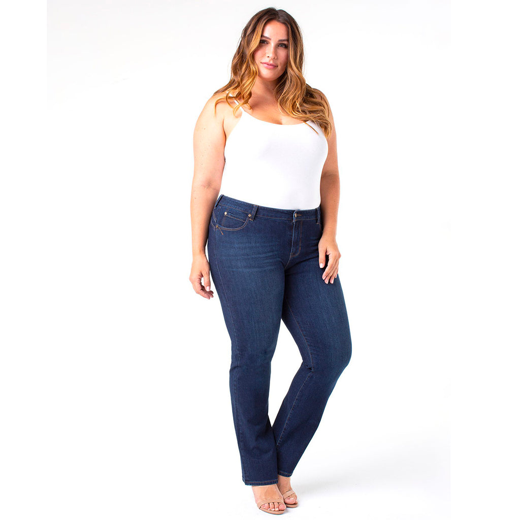 Liverpool Remy Hugger Straight 4-way Stretch Contour Jeans