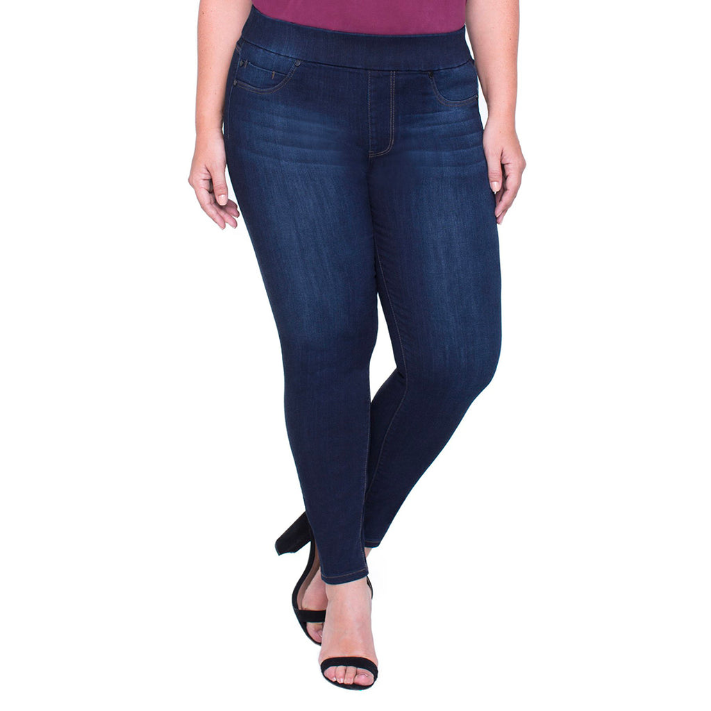 Liverpool Sienna Ankle Pull-On Jeans