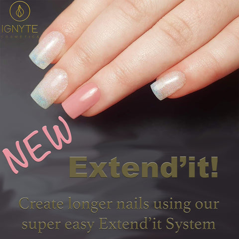 Extend'it Tips - Blush (100 Count)- Extension System Kit