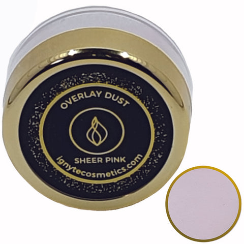 Overlay Dust - Sheer Pink