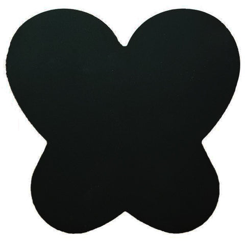 Black Silicone Paint Mat - Butterfly