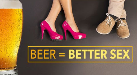 The relation between beer and sex