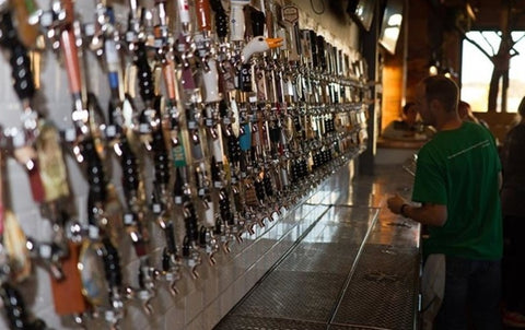 Most beer taps in the world