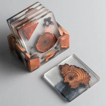 Load image into Gallery viewer, resin coasters on a table 9